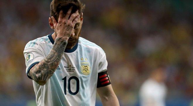 Аргентина проиграла стартовый матч Копа Америка впервые за 40 лет