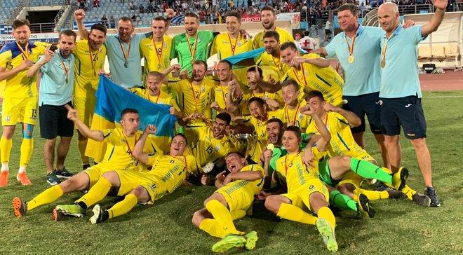 Збірна України стала чемпіоном Європи серед футболістів з порушенням слуху – у плей-офф була обіграна Росія