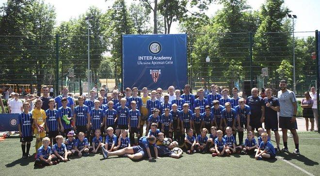 Інтер відкрив футбольну академію в Україні – екс-зірка міланців був присутнім на церемонії