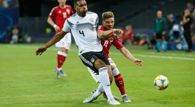 Євро-2019 U-21: Німеччина впевнено перемогла Данію з Дуелундом, Австрія розібралась із Сербією