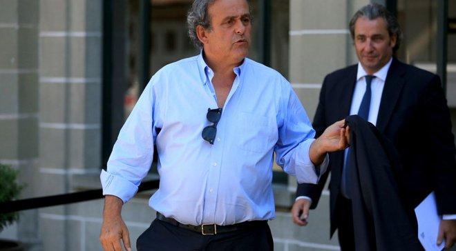 Адвокат Платини – о допросе экс-президента УЕФА: Ему не за что себя упрекать