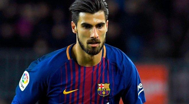 Барселона погодилась продати Андре Гомеша в Евертон