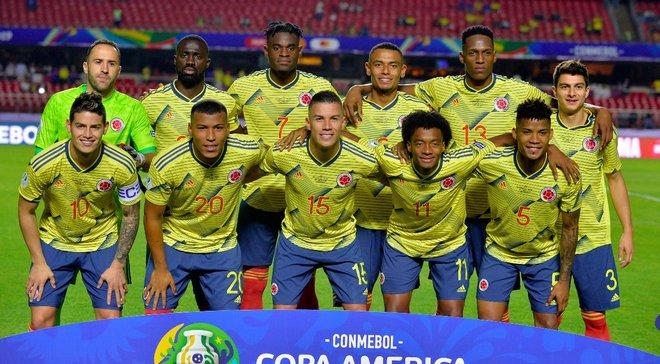 Копа Амеріка: Колумбія на останніх хвилинах вирвала перемогу у Катару і здобула путівку в плей-офф