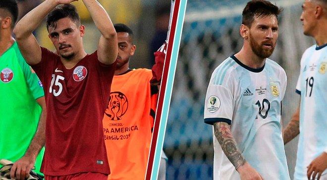Катар – Аргентина: онлайн-трансляция матча 3-го тура Копа Америка-2019 – как это было