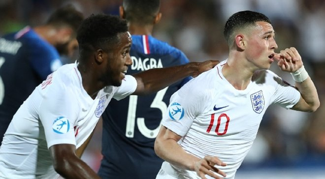 Партнер Зинченко по Манчестер Сити отличился великолепным голом за молодежную сборную Англии