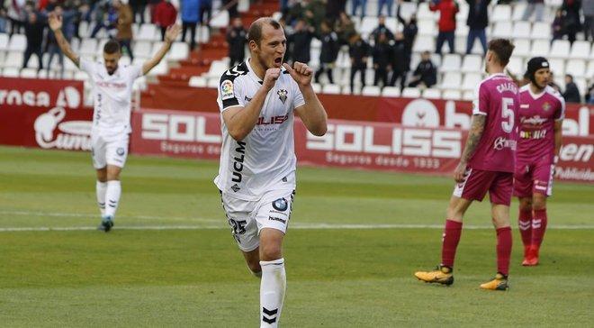 Зозуля припинив переговори з Альбасете щодо нового контракту