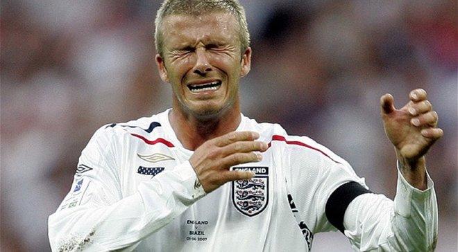 Бекхем з футболкою Манчестер Сіті: тепер ви бачили все – розіграш дня
