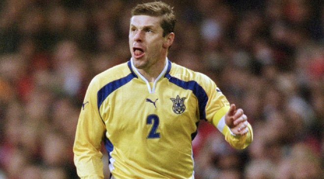 Лужный вспомнил самый памятный матч за сборную Украины