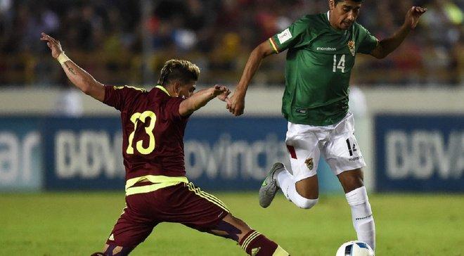 Копа Амеріка: Венесуела здолала Болівію і вирвала путівку до плей-офф