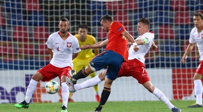 Евро-2019 U-21: Испания уничтожила Польшу и первой вышла в полуфинал, Италия еще сохраняет шансы на плей-офф