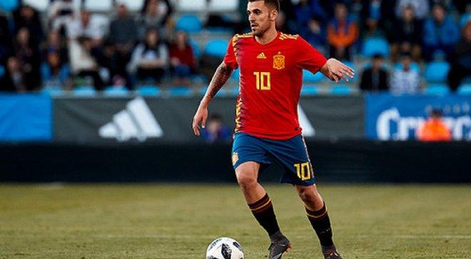 Шикарный гол со штрафного от Себальоса в видеообзоре матча Испания U-21 – Польша U-21 – 5:0