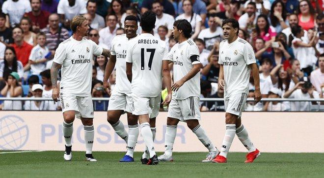 Шевченко забиває, але не рятує, Гуті та Рауль творять магію – легенди Реала у видовищному матчі обіграли зірок Челсі