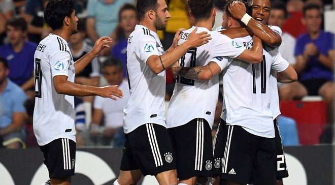 Евро-2019 U-21: Германия не победила Австрию, но вышла в полуфинал, Дания с Дуэлундом одолела Сербию