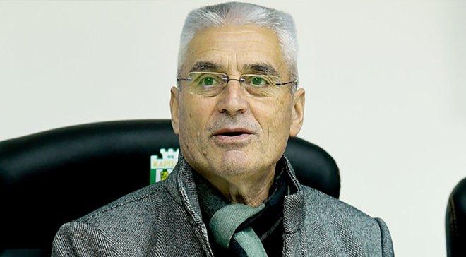 Ящишин – об экс-тренере Карпат Фабри: Он не мог мотивировать игроков, и добивал их своими истерическими выпадами