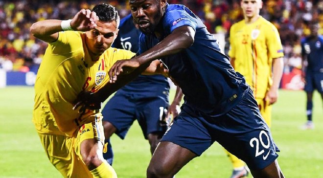 Футбол франция румыния результат
