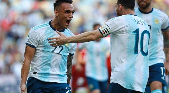Венесуэла – Аргентина – 0:2 – видео голов и обзор матча