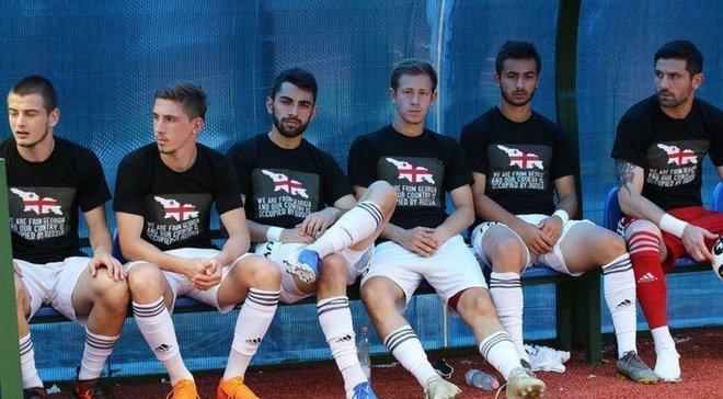 УЄФА відмовився розводити російські та грузинські клуби в єврокубках
