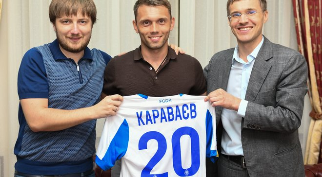 Караваєв попрощався з Зорею
