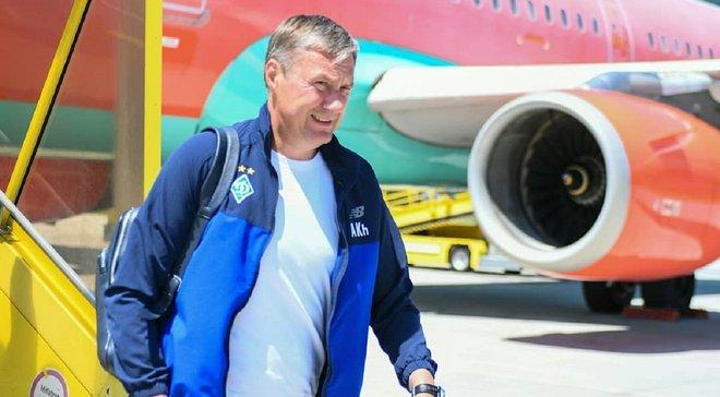Динамо прибуло на перший тренувальний збір до Австрії