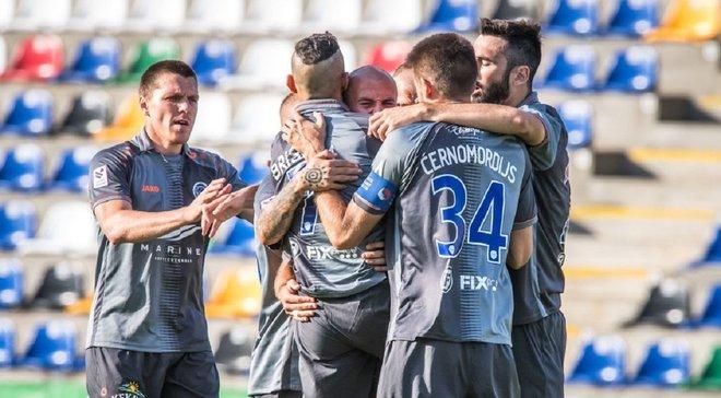 Дебелко забив свій перший гол за Ригу і допоміг команді здобути розгромну перемогу