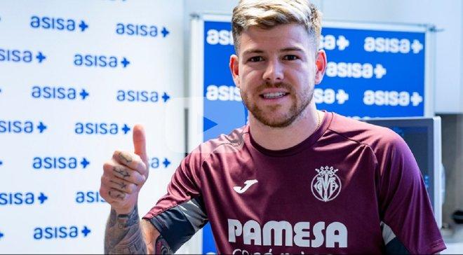Альберто Морено став гравцем Вільяреала