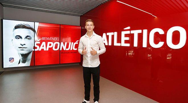 Атлетико официально подписал таланта Бенфики Шапоньича