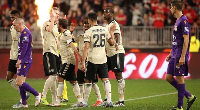 Манчестер Юнайтед розпочав передсезонну підготовку з перемоги над Перт Глорі