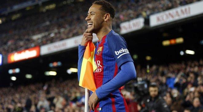 Неймар на фоне слухов о переходе в Барселону опубликовал видео с эмблемой каталонского клуба