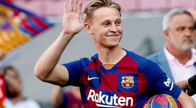 Де Йонг забрал номер другого игрока Барселоны