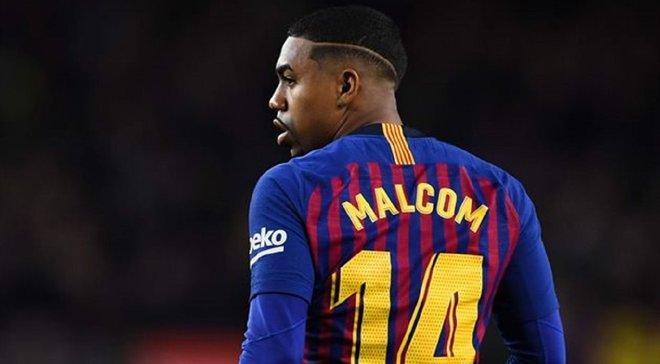 Барселона визначилась з майбутнім Малкома