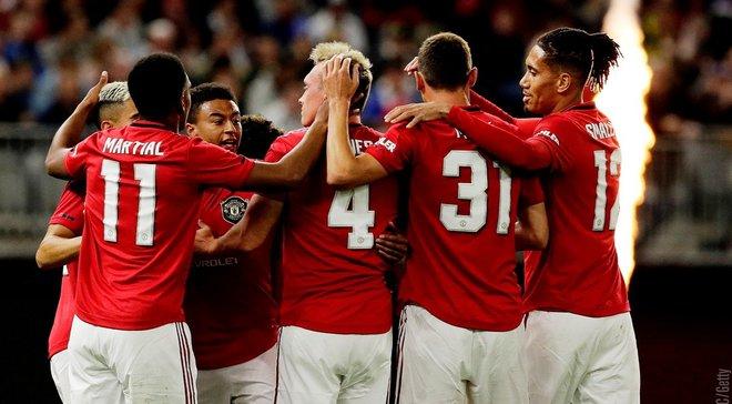 Манчестер Юнайтед знищив  Лідс у другому товариському матчі міжсезоння