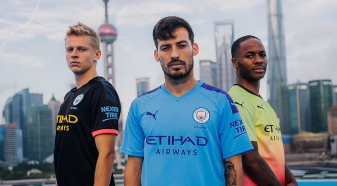 Зинченко с двумя звездами Манчестер Сити снялись в крутом промо-ролике на небоскребе в Китае