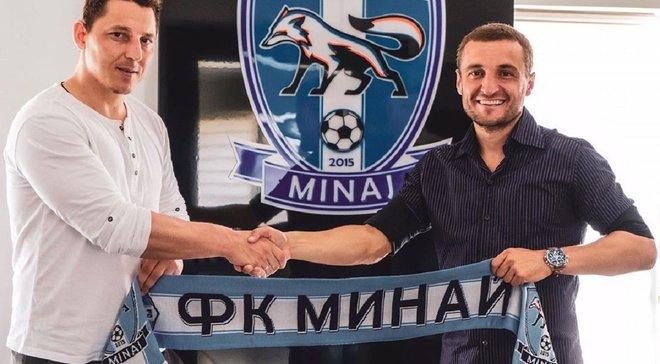 Кобін розраховує, що Кополовець допоможе Минаю як футболіст