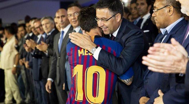 Барселона готовит для Месси новый контракт, – ESPN