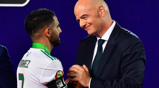 Марез могут запретить въезд в Египет – алжирец не пожал руку премьер-министру страны на награждении КАН-2019