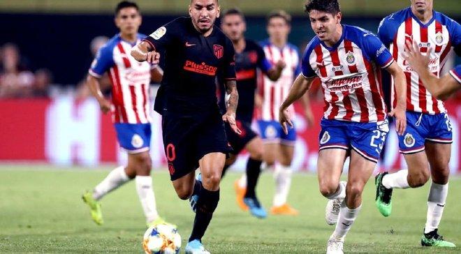 Атлетико одержал тяжелую победу над Чивас Гвадалахара на Международном кубке чемпионов