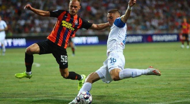 Динамо – Шахтер – 2:1 – видео голов и обзор матча за Суперкубок Украины
