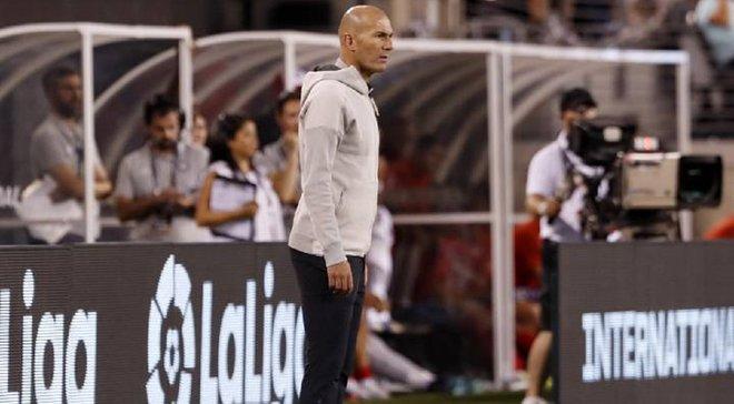 Зидан не зашел в раздевалку Реала после позорного поражения от Атлетико