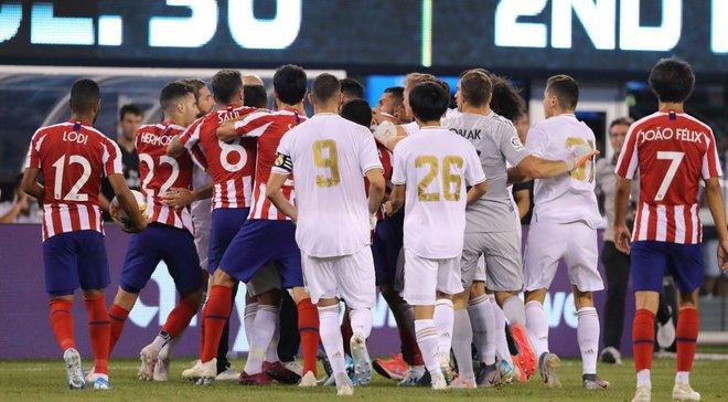 Главные новости футбола 27 июля: Атлетико семью голами опозорил Реал, Динамо и Шахтер прибыли в Одессу