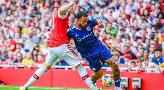 Ліон несподівано обіграв Арсенал і став володарем Emirates Cup