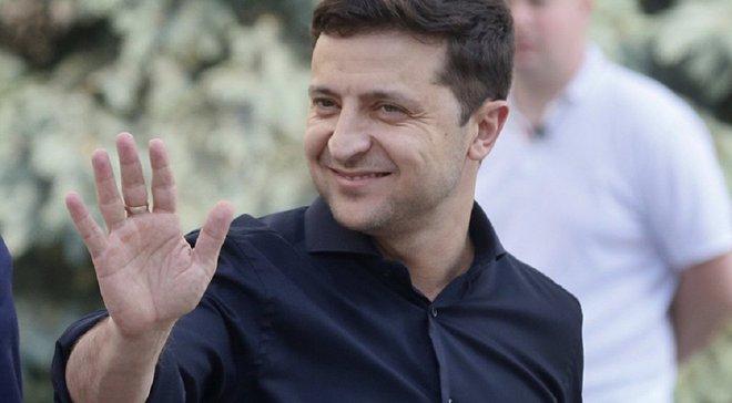 Динамо – Шахтер: Зеленский посетил матч за Суперкубок Украины