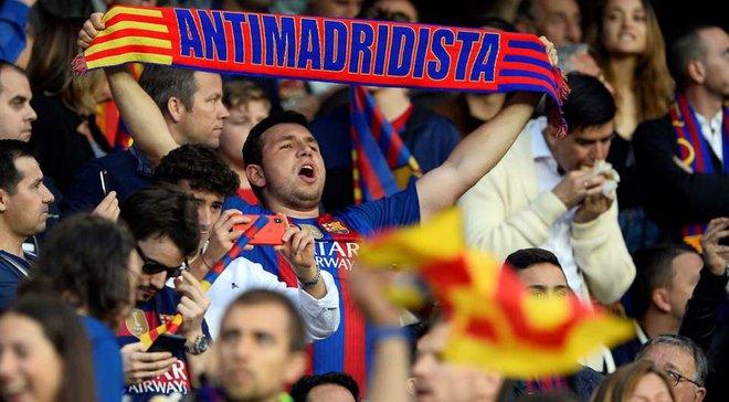 """Фанат Барселони розмахував футболкою Мессі на фан-секторі Реала – відео епічного """"самогубства"""""""