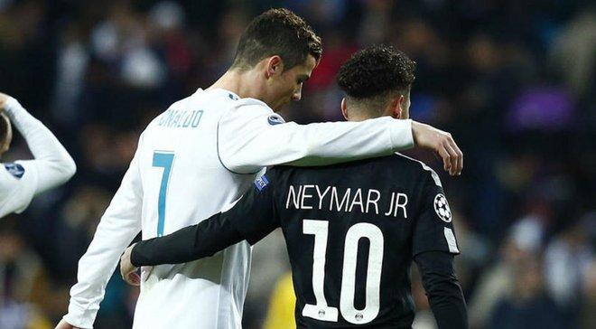 Роналду оценил возможность возвращения Неймара в Барселону