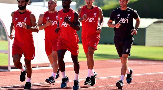 Салах, Фирмино и еще трое игроков вернулись в расположение Ливерпуля перед матчем с Манчестер Сити
