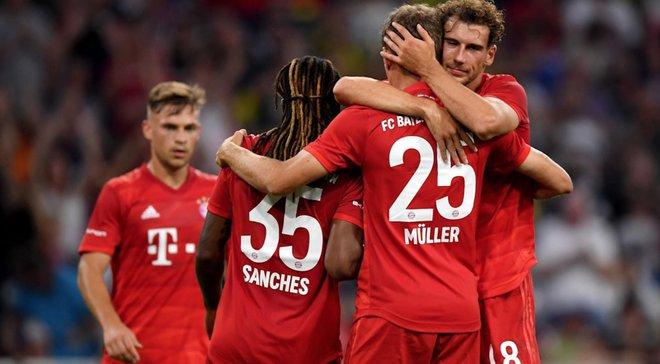 Феєрія Мюллєра у відеоогляді матчу Audi Cup Баварія – Фенербахче – 6:1