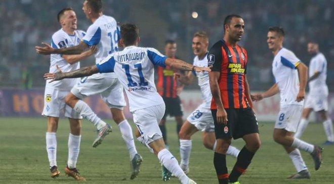 Динамо – Шахтар: Цітаішвілі встановив рекорд Суперкубка України