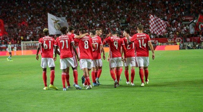 Бенфика разгромила Спортинг в матче за Суперкубок Португалии