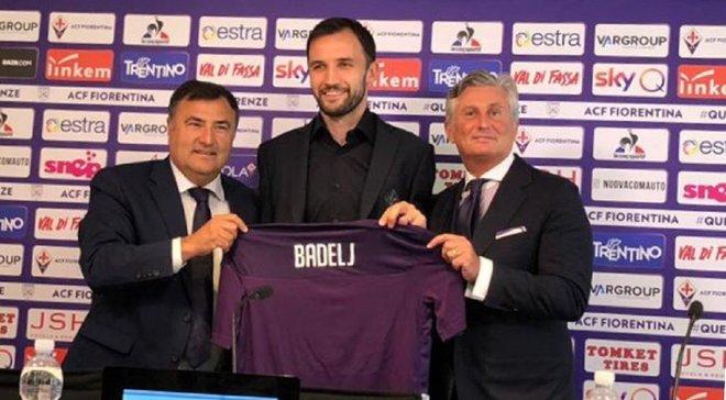 Бадель повернувся у Фіорентину через рік після переходу в Лаціо