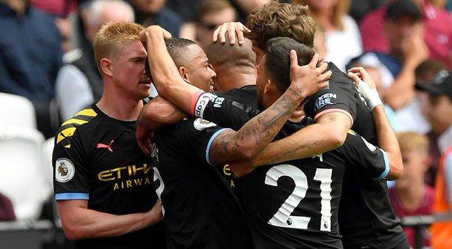 Вест Хем – Манчестер Сіті – 0:5 – відео голів та огляд матчу