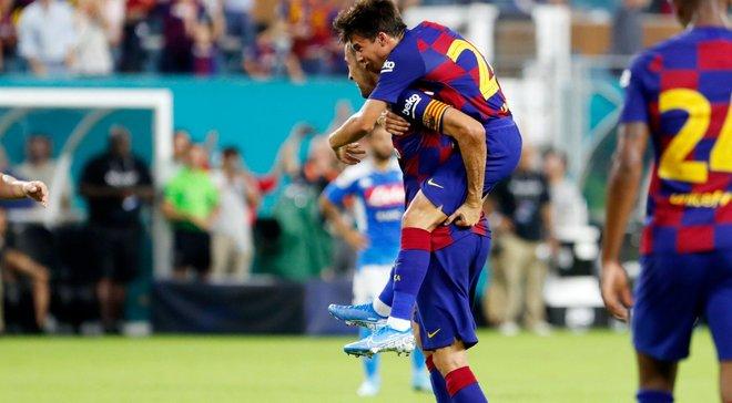 Барселона переграла Наполі в американському спарингу